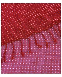 Hackett - Red Polka Dot Scarf for Men - Lyst