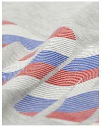 Tommy Hilfiger - Gray Tommy Jeans Women's Fleece Sweatshirt Dress - Lyst