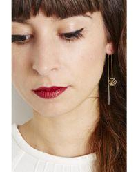 Rachel Jackson - Multicolor Hexagon Drop Earrings - Lyst