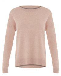 COSTER COPENHAGEN - Pink Lambswool Sweater In Rose - Lyst
