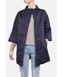 Add - Blue Goosed Down Jacket - Lyst