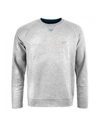 BOSS Green - Gray Sless Sweatshirt for Men - Lyst