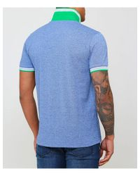 BOSS - Blue Regular Fit Paddy Polo Shirt for Men - Lyst