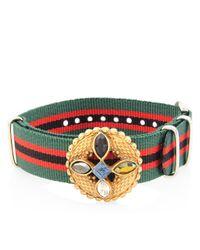 Gabriele Frantzen | Green Striped Watch Candy Bracelet | Lyst