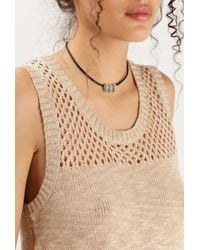 Vanessa Mooney   Black Hip To Be Square Necklace   Lyst