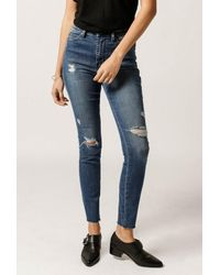 Ksubi | Blue Hi N Wasted Jean | Lyst