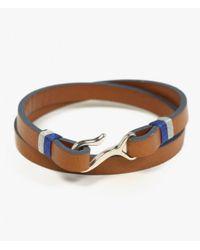 Miansai - Black Foksol Silver Bracelet for Men - Lyst