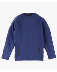 Native Youth | Blue Scuba Sweater | Lyst