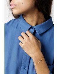 Azalea | Blue Small Eye Bracelet | Lyst