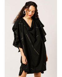 Uzi - Black Ingrid Beams Dress - Lyst