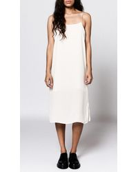 Objects Without Meaning - Pink Jersey Slip Dress - Lyst