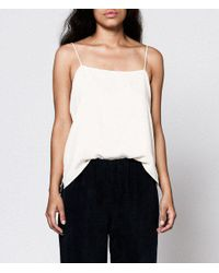 Objects Without Meaning - Natural Cami Tank - Lyst