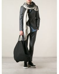 Lost & Found - Black Oversized Tote for Men - Lyst