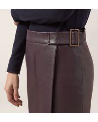 Hobbs | Red Powys Skirt | Lyst