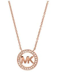 Michael Kors | Pink Mkj4734791 Ladies Necklace | Lyst