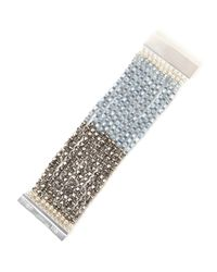 Nakamol | Metallic Silver-tone  Blue Multi Strand Bracelet | Lyst