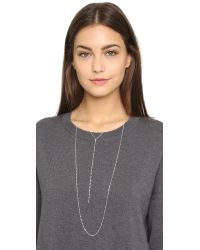 Jennifer Zeuner - Metallic Drew Necklace - Lyst