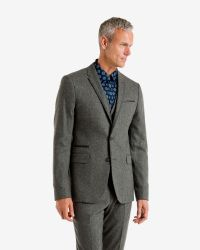 Ted Baker | Gray Wool-blend Jacket for Men | Lyst