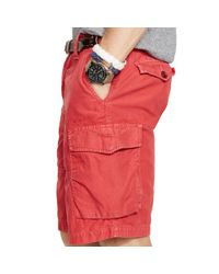 Polo Ralph Lauren | Red Classic-fit Cargo Short for Men | Lyst
