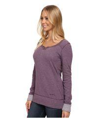 Carhartt   Purple Pondera Scoop Neck Shirt   Lyst