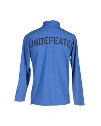 Undefeated - Blue T-shirt for Men - Lyst