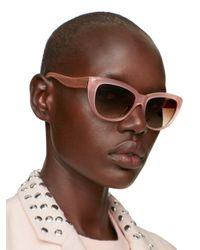 kate spade new york | Pink Emalee Sunglasses | Lyst