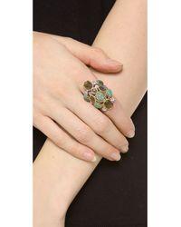 Alexis Bittar - Metallic Mosaic Kiwi Cluster Ring - Lyst