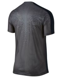 Nike | Black Dri-fit Training 2 Flash Graphic Soccer Shirt for Men | Lyst