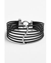 Alor | Black Diamond Bracelet | Lyst