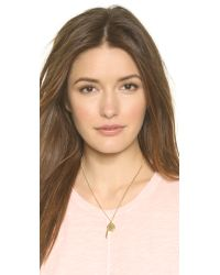 Marc By Marc Jacobs - Metallic Whistle Pendant Necklace - Oro - Lyst