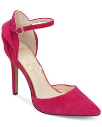 Jessica Simpson | Pink Carlette Two-piece Pumps | Lyst