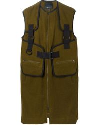 3.1 Phillip Lim - Green 'para Strap' Gilet for Men - Lyst