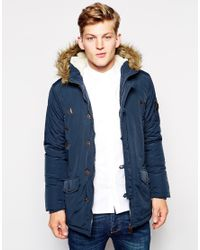 Blue Parka Jacket - JacketIn