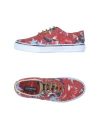 Sperry Top-Sider - Red Low-tops & Trainers for Men - Lyst