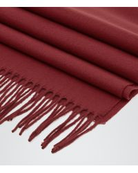 Reiss | Purple Ashby Tasselled Scarf for Men | Lyst