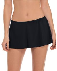 Gottex | Black Tutti Frutti Skirted Swim Bottom | Lyst