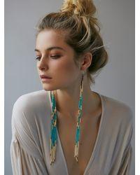 Free People | Blue Ghost Dancer Earrings | Lyst