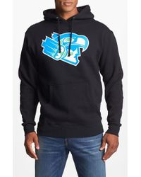 Casual Industrees Blue '12th Man' Hoodie for men