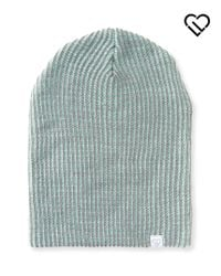 Live Love Dream | Green Lld Contrast Rib-knit Beanie | Lyst