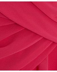 2nd Day | Pink Pleat Detail Silk Dress | Lyst