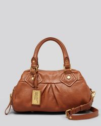 Marc By Marc Jacobs - Brown Classic Q Baby Groove Satchel - Lyst