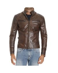 Matchless | Brown Down Jacket for Men | Lyst