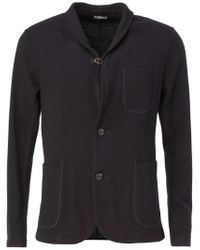Kolor - Blue Knit Blazer for Men - Lyst
