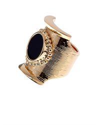 Chloé | Black Djill Onyx Ring | Lyst