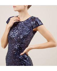 Hobbs | Blue Dafina Maxi Dress | Lyst