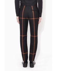3.1 Phillip Lim - Black Slim Fit Riding Pant for Men - Lyst