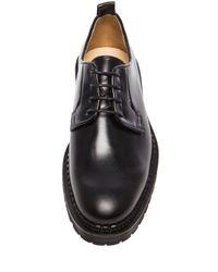Carven - Black Lug Sole Leather Dress Shoes - Lyst