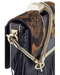 Azzaro | Black Vendôme Chaine Shoulder Clutch | Lyst