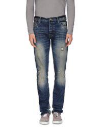 PRPS - Blue Denim Trousers for Men - Lyst