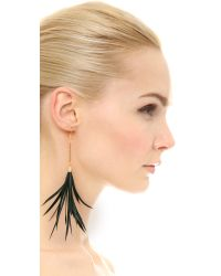 Fiona Paxton - Metallic Iona Earrings - Black - Lyst